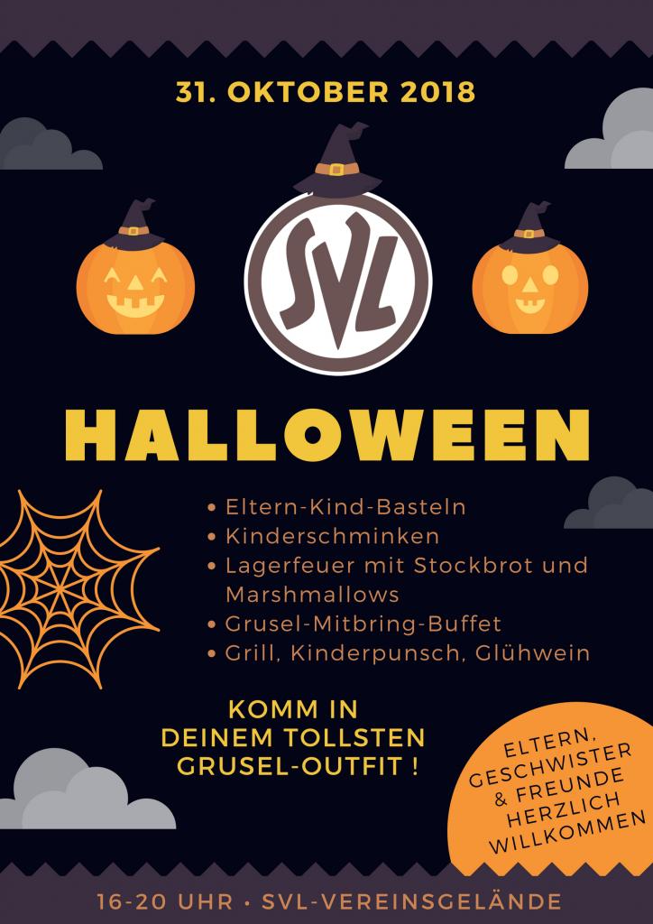 Halloween bei der SVL