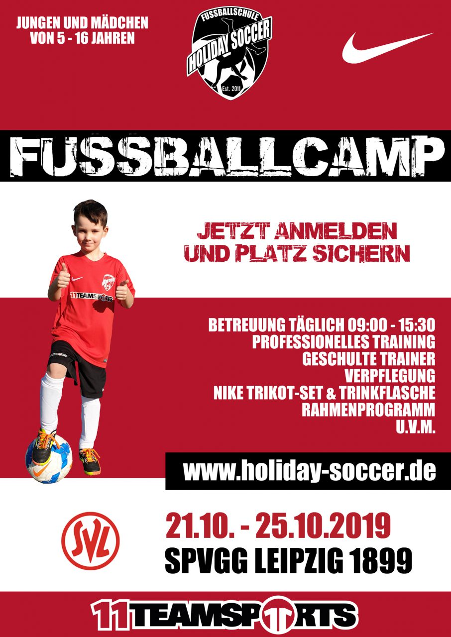 Fußballcamp – jetzt anmelden!