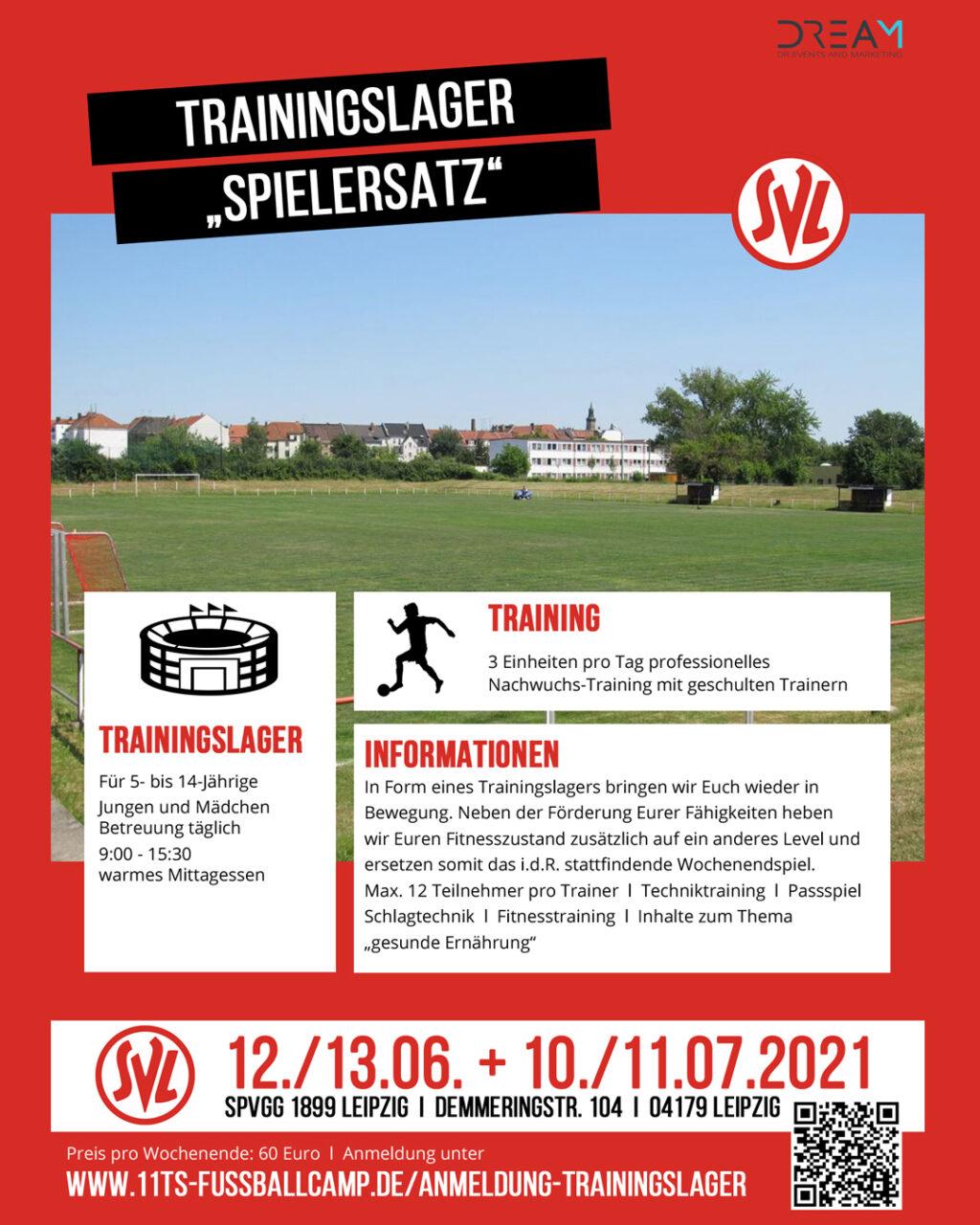 """Trainingslager """"Spielersatz"""""""